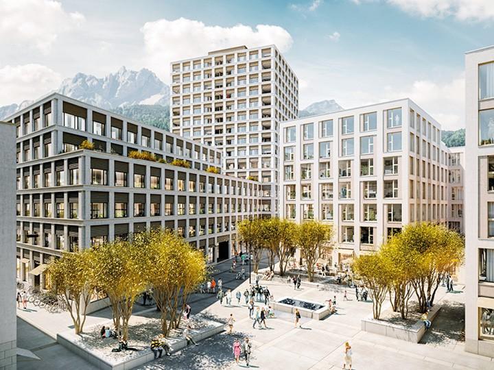 Gewerbe- und Wohnüberbauung «Am Mattenhof» Kriens