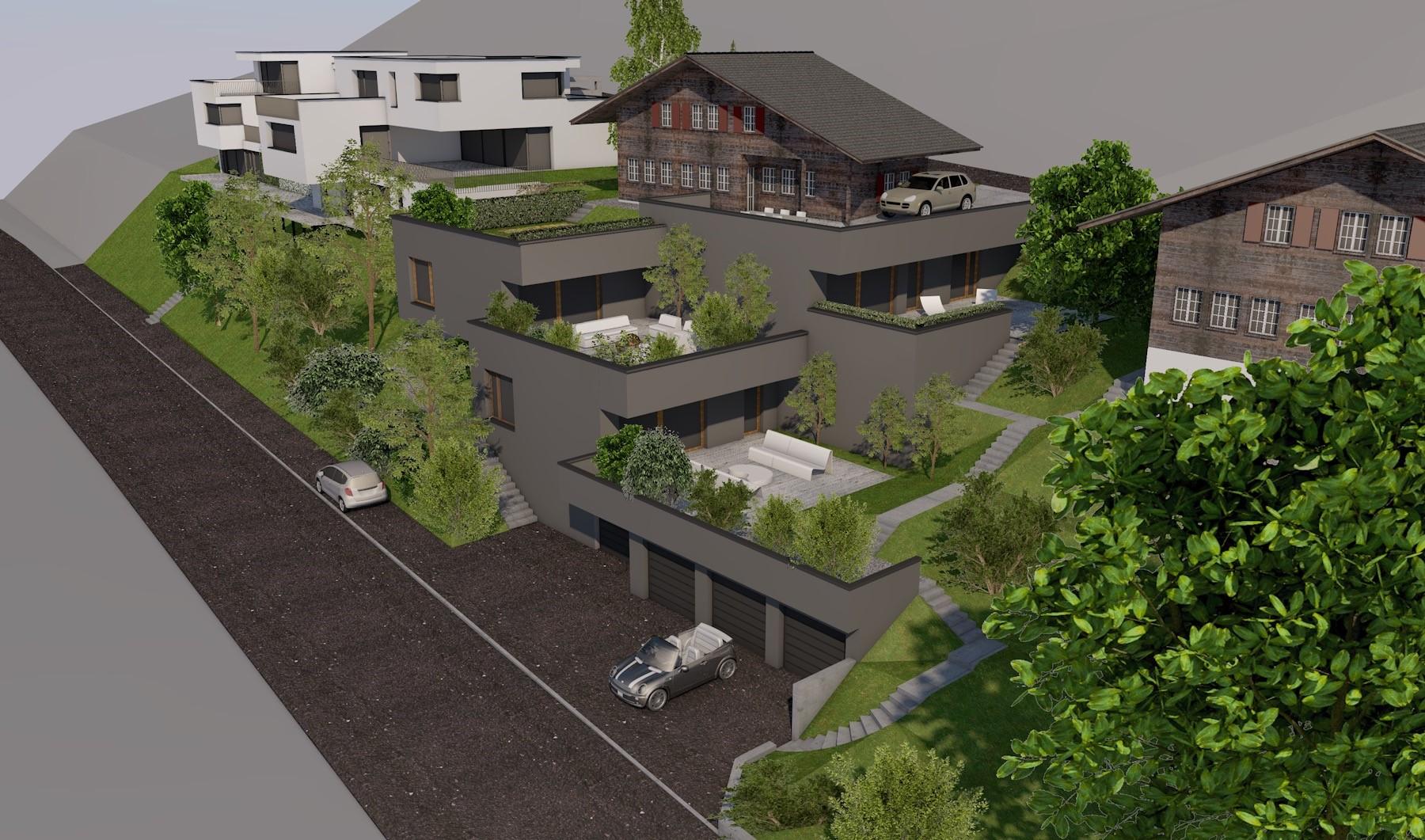 Neubau Wohnboxen in Rothrist